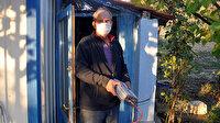 Hırsızlar meyve bahçesine dadandı: 100 kiloluk akülerini çaldılar