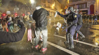 Macron'un güvenlik yasasına isyan