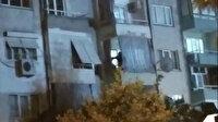 11 yaşındaki oğlunu balkonda oklavayla dövdü