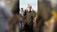 Bingöllü paramotorcu Lübnan'a inince ülke alarma geçti