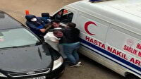 Polis olduğunu iddia eden şahıs ambulans şoförünü darp etti