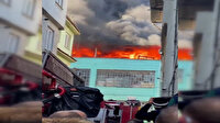 Bursa'da plastik fabrikasında yangın çıktı