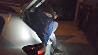 Van'da durdurulan aracın içerisinden 10 kaçak göçmen çıktı