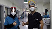 Koronavirüsü yenen çift: Merdivenleri çıkabildiğimiz için kendimizi şanslı hissediyoruz