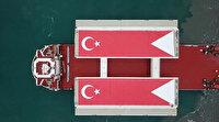 1915 Çanakkale Köprüsü'nün ilk 'mega blok' tabliyesi Çanakkale'ye geldi