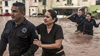 Meksika'da sel nedeniyle binlerce kişi tahliye edildi
