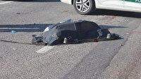 TEM'de feci ölüm: Aracından inerek bagajını açtı, sonrası korkunç