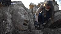 2 bin 200 yıllık olduğu tahmin ediliyor: Muğla'da 10 adet mitolojik mask gün yüzüne çıkarıldı