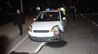 Ambulansa yol vermek isterken kazaya karıştı: İlk müdahaleyi yol verdiği sağlık ekibi yaptı