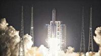Çin insansız uzay aracını Ay'a fırlattı