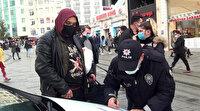 Maske yok sigara içiyor bir de polisi tehdit ediyor: Öteki tarafta görüşeceğiz