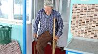 79 yaşındaki Mehmet amcadan duygulandıran hareket: Devlete yük olmamak için ne protez bacağı ne de engelli maaşını kabul etmedi