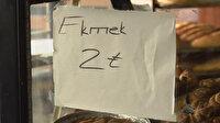 2 liraya ekmek satanlara denetim: Tarife dışı fiyat ve gramaj uygulayan fırınlara ceza yağdı