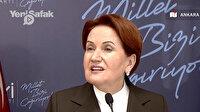 """Meral Akşener'den """"HDP ile ortak anayasa"""" sorusuna cevap: Millet aç"""