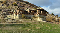 Peribacalarını andıran 'külahlı taşlar' için turizm çağrısı