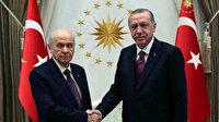 Erdoğan'dan Cumhur İttifakı açıklaması: Bu ittifakın tek amacı ülkemizi büyük ve güçlü Türkiye'ye ulaştırmaktır