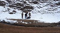 Sınırda yürekleri sızlatan olay: Üçü de donmuş halde bulundu