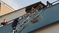 Serik'teki hastanede yangın çıktı: İlk müdahaleyi hastane çalışanları yaptı