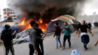 Irak'ta Sadr grubu yanlıları ile hükümet karşıtı protestocular çatıştı: 50 kişi yaralandı