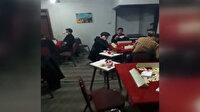Ağrı'da kıraathane baskını: 70 kişiye 220 bin 500 TL ceza kesildi