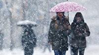 Meteoroloji'den iki il için kar ve yağmur uyarısı
