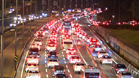 Kısıtlama kalktı İstanbul'da trafik durma noktasına geldi