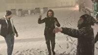 Kar İstanbul'un kapısına dayandı: İki ilde beyaz örtü oluştu