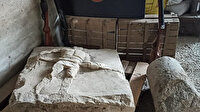 Çanakkale'de köy evinden gladyatör steli çıktı: Tam iki bin yıllık