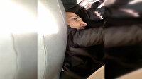 Polisi şehit eden saldırganın polis otosu içinde yeni görüntüleri ortaya çıktı