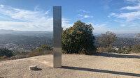ABD'de ortaya çıkan esrarengiz metal blok bu sefer de Kaliforniya'da görüldü