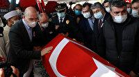 Şehit polis memuru Barış Göl'e son görev: Göz yaşlarıyla uğurlandı