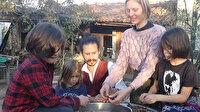 ABD'li çift 3 çocuğuyla Kaz Dağları'nın eteklerine yerleşti: Köylülerden çok şey öğrendik
