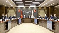 Bakan Lütfi Elvan ve Abdulhamit Gül MÜSİAD yönetimiyle bir araya geldi