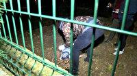 Polisin eve geldiğini gören FETÖ'cü cep telefonlarını çarşafa sarıp pencereden fırlattı
