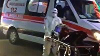 Trabzon'da koronavirüs vakaları artıyor: Pandemi hastanesi önünde ambulans yoğunluğu oluştu