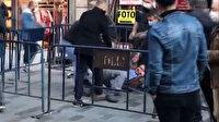 İstiklal Caddesi'nde sosyal mesafe kavgası