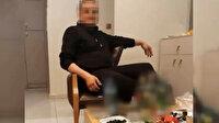 Esenler'de 'Eşim hamile, ekmek alamıyorum' diyerek yardım isteyen şahsın alkol masasında görüntüleri ortaya çıktı