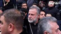 'Karabağ'dan çıkmam' diyerek elinde silahla poz veren Ermeni papaz Erivan'daki protestolarda görüntülendi