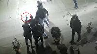 İstasyon sahibiyle tartışan şahıs 10 arkadaşıyla benzinliği bastı: Silahlı sopalı muştalı kavga kameralara yansıdı
