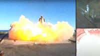 Elon Musk'ın SpaceX Starship SN8 roketi iniş sırasında patladı