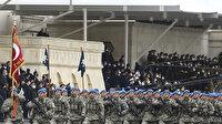 Bakü'deki Zafer Geçidi Töreni'nde Bolu 2'nci Komando Tugayı'mızın geçiş anı