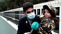 Azerbaycanlı minik Nuray: Karabağ bizimdi yine bizim oldu