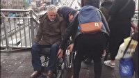 Bir yıl oldu bir çözüm yok: Engellilerin kullanamadığı metrobüs durağında çile sürüyor