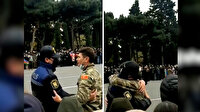 Azerbaycan'daki Zafer Geçidi Töreni'nde duygulandıran görüntüler