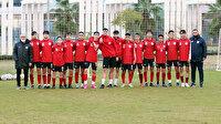 Antalyaspor'da iki futbolcu 15 yaş altı takımıyla çalıştı