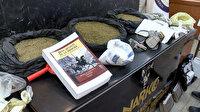 Kargo merkezine narkotik operasyonu: Kitaplara emdirilmiş 4 kilo kokain ele geçirildi