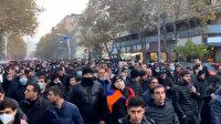 Azerbaycan'ın zafer coşkusu Ermenistan'ı sokağa döktü