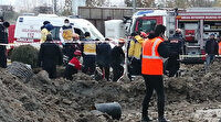 Ankara'da 2 işçi toprak kayması sonucu göçük altında kaldı