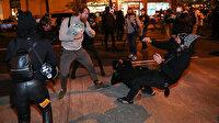 Birbirlerine girdiler: Washington sokakları karıştı