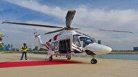 BAE Prensi Zayed Dubai'de kaza yapan İsraillileri kurtarmak için helikopter kaldırttı